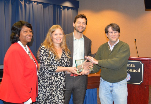 2013 Atlanta Planning Advisory Board Community Engagement Award